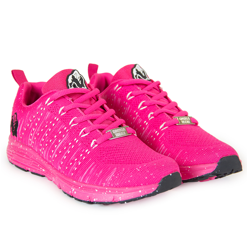 Gorilla Wear Brooklyn Knitted Sneakers - Pink/White - 36
