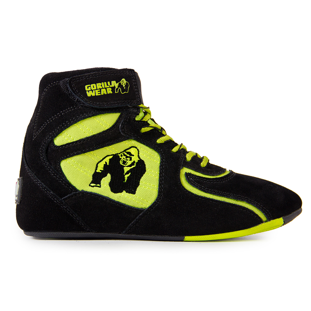 "Gorilla Wear Chicago High Tops - Black/ Neon Lime ""Limited"" - Maat 36"