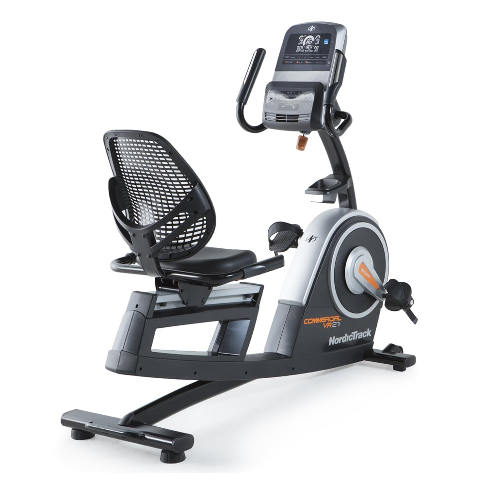 Hometrainer - NordicTrack VR21 - Recumbent Bike