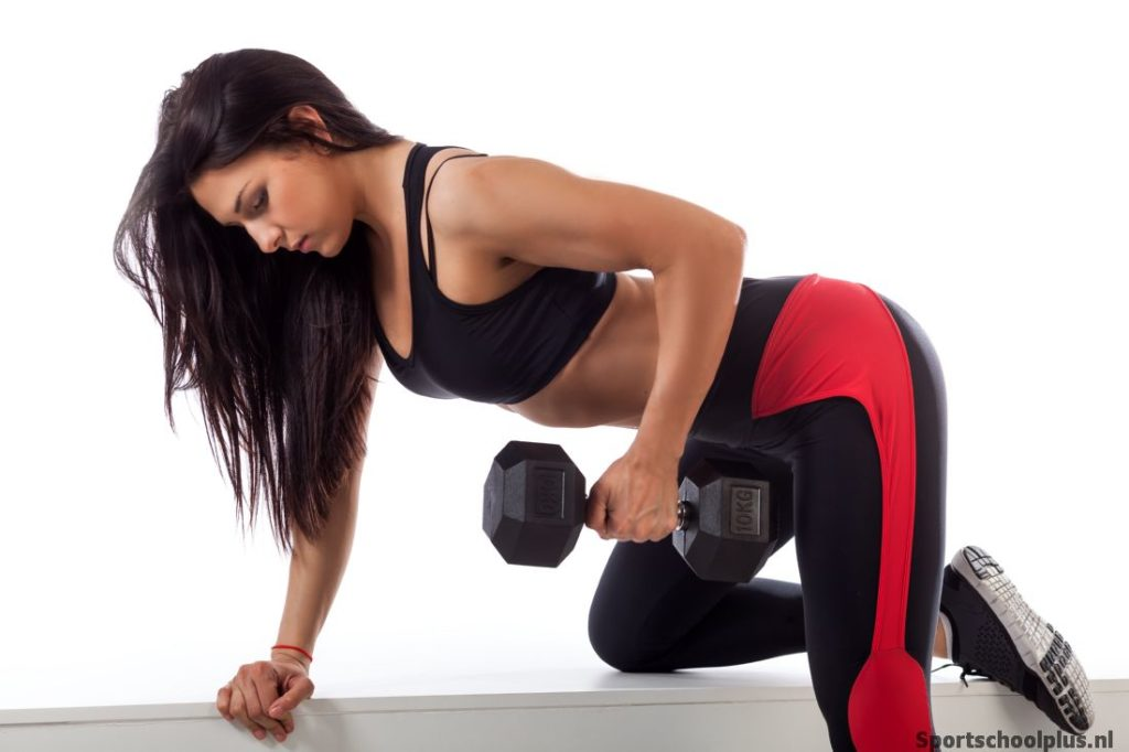 Dumbell oefening