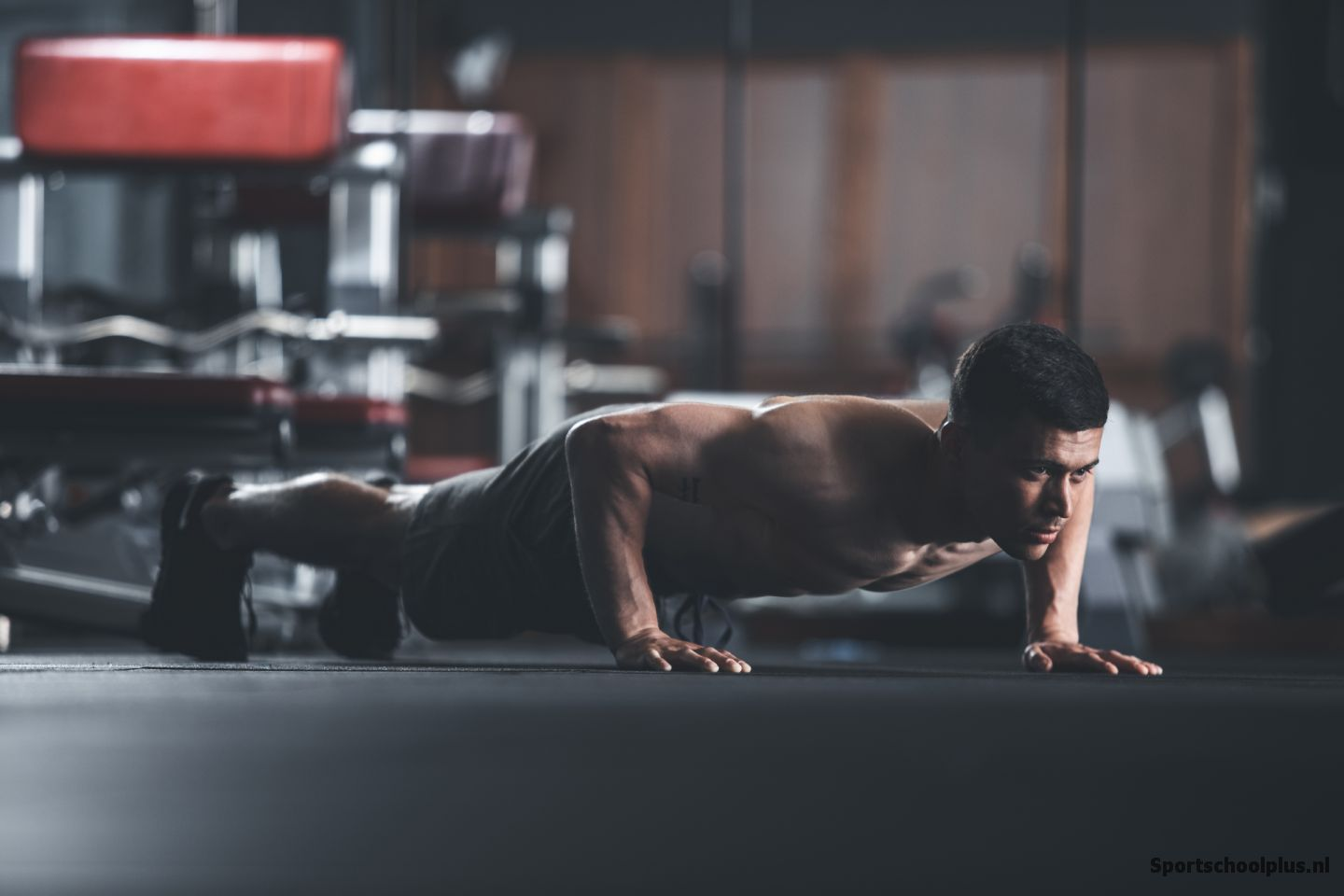 pushup fitness bovenlichaam workout