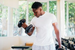 dumbell curl fitness