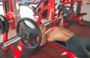 chest workout bench press