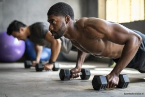 chest workout pushups
