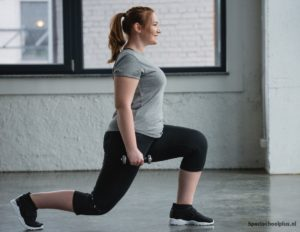 training lunges